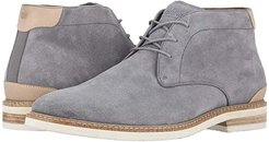 Highland Plain Toe Chukka Boot (Gray Suede/White Sole) Men's Shoes