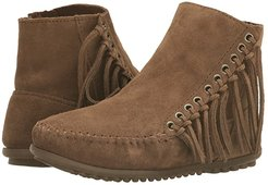 Willow Boot (Dusty Brown Suede) Women's Pull-on Boots
