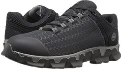 Powertrain Soft Toe SD+ (Black Synthetic) Men's Work Lace-up Boots