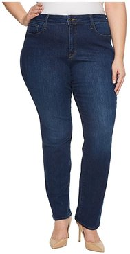Plus Size Marilyn Straight Jeans in Cooper (Cooper) Women's Jeans