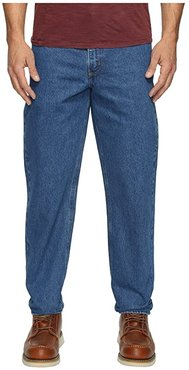 Relaxed Fit Tapered Leg Jean (Darkstone) Men's Jeans
