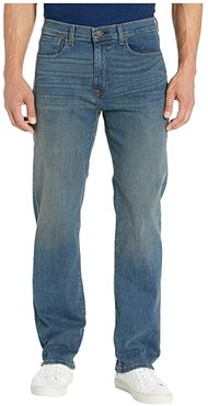 Denim Relaxed Fit Jeans in Rinse (Dark Wash/Vintage) Men's Jeans