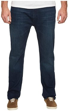 Big and Tall Relaxed Fit in Pure Deep Bay Wash (Pure Deep Bay Wash) Men's Jeans