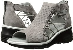 Naomi (Light Taupe) Women's Wedge Shoes