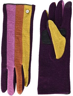 Color Block Gloves - Water Repellent Finish (Pickled Beet) Extreme Cold Weather Gloves