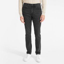Slim Fit Jean by Everlane in Washed Black, Size 28x34