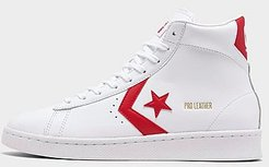 Pro Leather High Top Casual Shoes in White Size 9.0