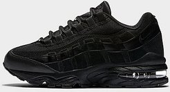 Boys' Big Kids' Air Max 95 Casual Shoes in Black Size 5.0