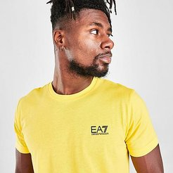 EA7 Train Core T-Shirt in Yellow Size X-Large 100% Cotton
