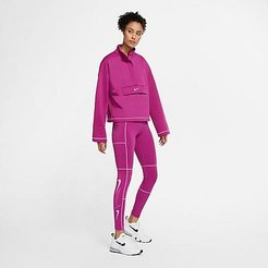 Sportswear Swoosh Leggings in Pink Size X-Small Cotton/Polyester/Spandex