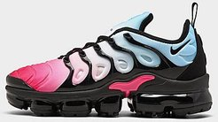 Air VaporMax Plus Running Shoes in Pink Size 6.5 Leather/Suede
