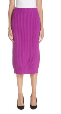 Wool & Cashmere Pencil Skirt