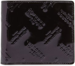 Embossed Leather Wallet -