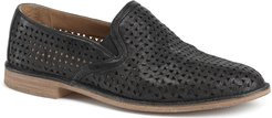 Ali Perforated Loafer, Size 8.5 M - Black