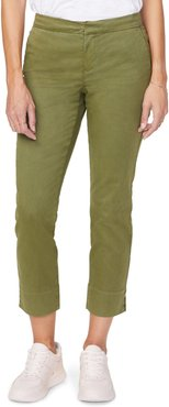 Relaxed Crop Chino Pants