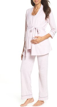 Maternity/nursing Robe & Pajamas