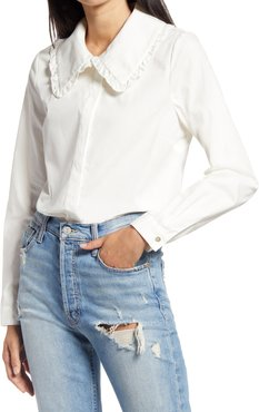 Cherish Frill Collar Shirt