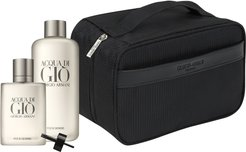 Acqua Di Gio Pour Homme Eau De Toilette Deluxe Refill Set (Usd $242 Value)