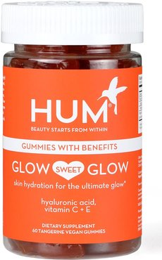 Glow Sweet Glow Vegan Gummies Skin Hydration Dietary Supplement