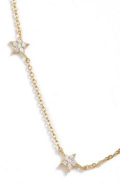 Pave Star Choker Necklace