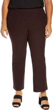 Plus Size Women's Eileen Fisher Slim Stretch Ankle Pants
