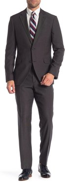 Two Button Notch Lapel Trim Fit Suit at Nordstrom Rack