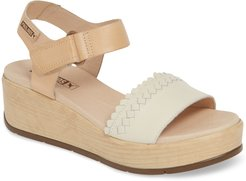 Costacabana Double Band Platform Sandal