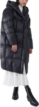 Janis Irridiscent Water Resistant Down Puffer Coat
