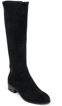 Patch Knee High Boot