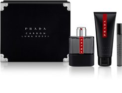 Luna Rossa Carbon Eau De Toilette Set (Usd $122 Value)