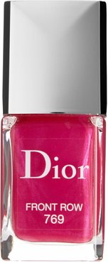 Vernis Gel Shine & Long Wear Nail Lacquer - 769 Front Row