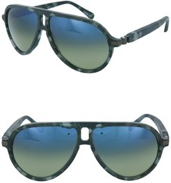 Brioni 61mm Aviator Sunglasses at Nordstrom Rack