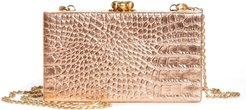 Jean Embossed Leather Box Clutch - (Nordstrom Exclusive)