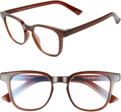 Twelve Hungry Bens 53Mm Reading Glasses - Crystal Bourbon