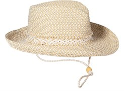 Jacquelyn Squishee Sun Hat - White