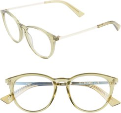 Night Team Crazy For 49Mm Reading Glasses - Crystal Olive