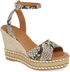 Amelia Ankle Strap Wedge