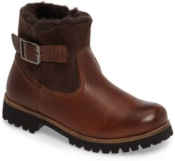 Ol06 Genuine Shearling Lined Bootie