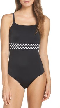 Cocos Pocketed One-Piece Swimsuit