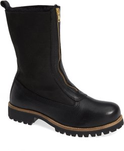 Ql53 Genuine Shearling Lined Bootie