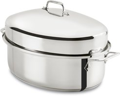 10-Quart Covered Oval Roaster & Lid