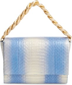 Small Carrie Genuine Crocodile Clutch -