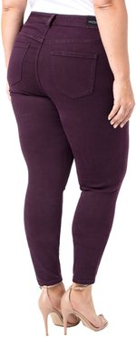 Plus Size Women's Liverpool Abby Skinny Jeans