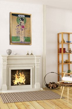 Design for a Wall Decoration Framed Oil Reproduction of an Original Painting by Charles Rennie Mackintosh at Nordstrom Rack