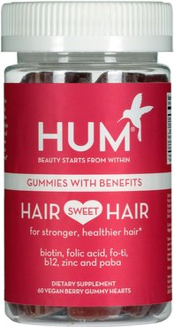 Hair Sweet Hair Vegan Gummies Length & Strength Dietary Supplement