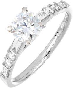 Pave Diamond Engagement Ring Setting (Trunk Show Exclusive)