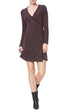Lucielle Long Sleeve Wrap Dress