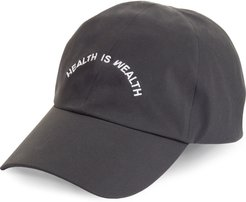 Health Is Wealth Nylon Baseball Cap - (Nordstrom Exclusive)