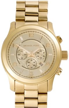 'Large Runway' Chronograph Bracelet Watch, 45Mm