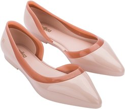 Cleo Ad Pointed Toe Flat